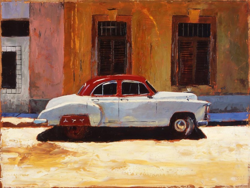 Painting 'Siesta Havana' by Jeremy Sanders