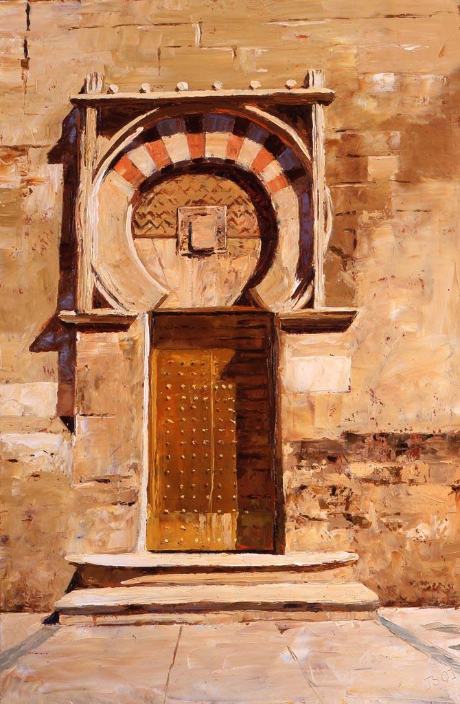 Painting 'Cordoba Door' by Jeremy Sanders