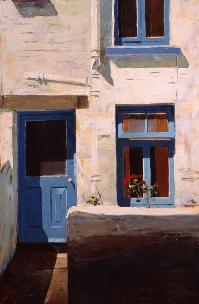 Painting 'Cornish Blue' by Jeremy Sanders