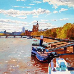 Painting 'Westminster Palace' by Jeremy Sanders