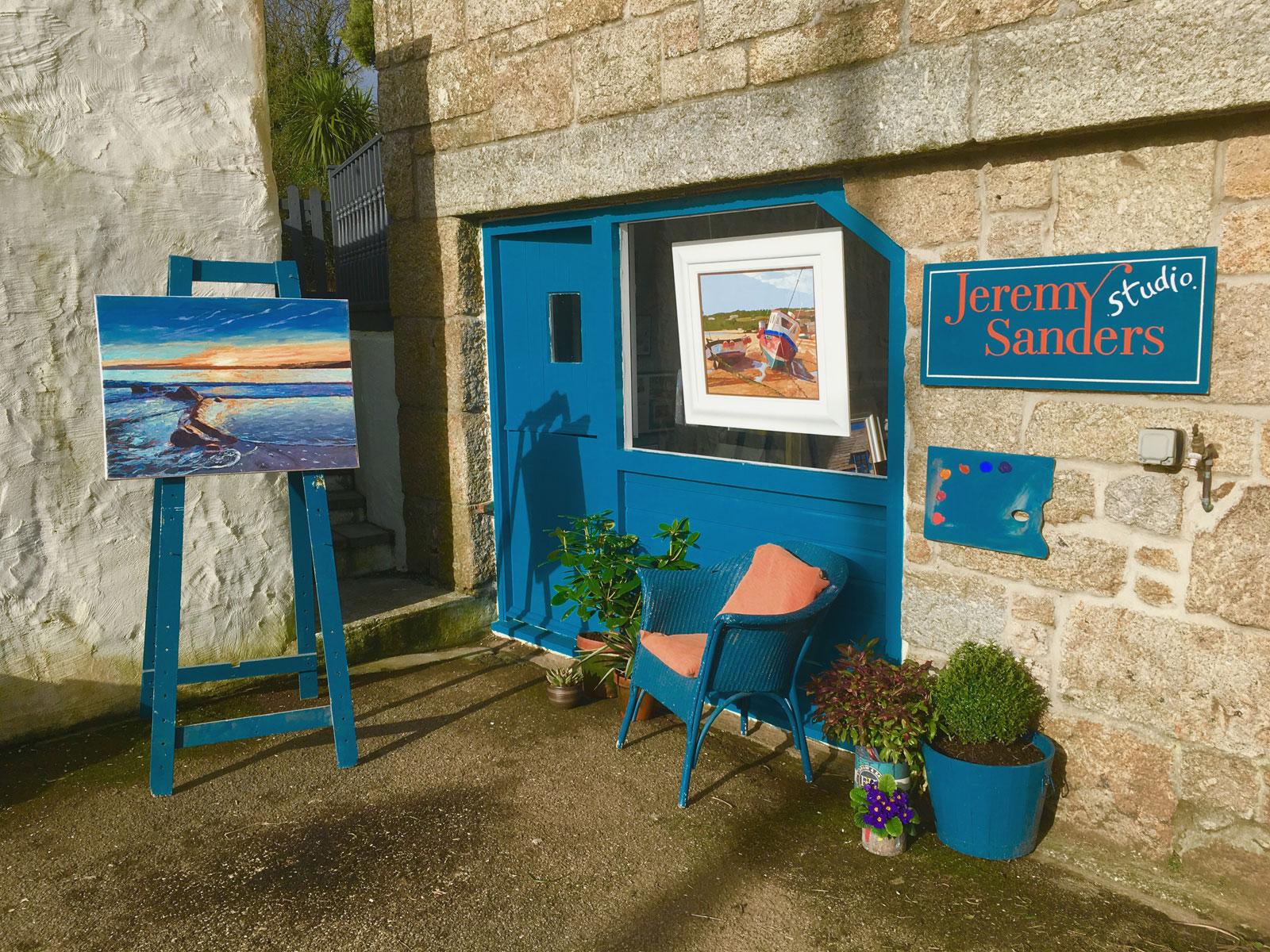 Drift School Usa >> Jeremy Sanders - Fine Artist, Cornwall UK