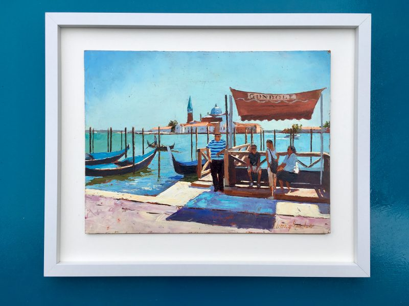Gondoliers , Venice