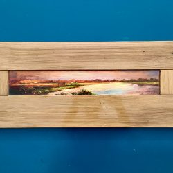 Thames Sunrise on Door Panel