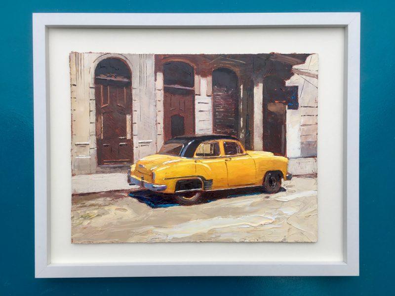 Yellow Car , Havana