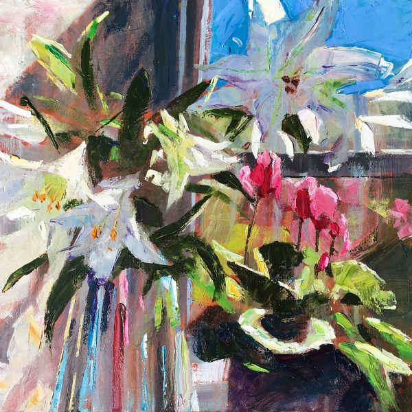 Lilies and Cyclamen
