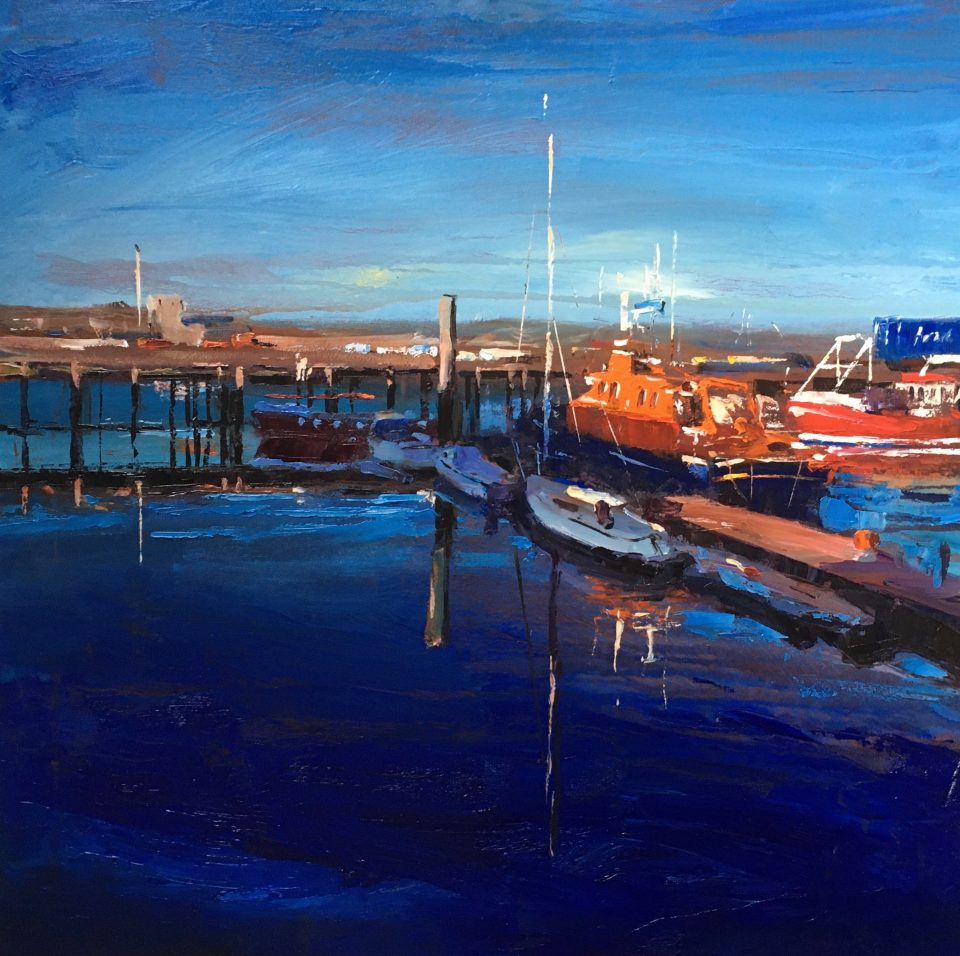 Ivan Ellen , Newlyn Evening