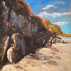 Porth Kidney Cliffs
