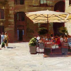 Lunching San Gimignano
